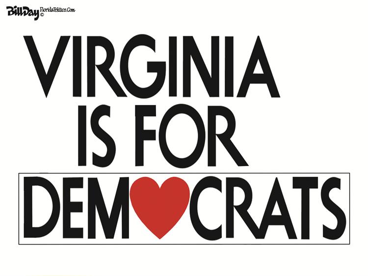 Editorial Cartoon: Virginia Election