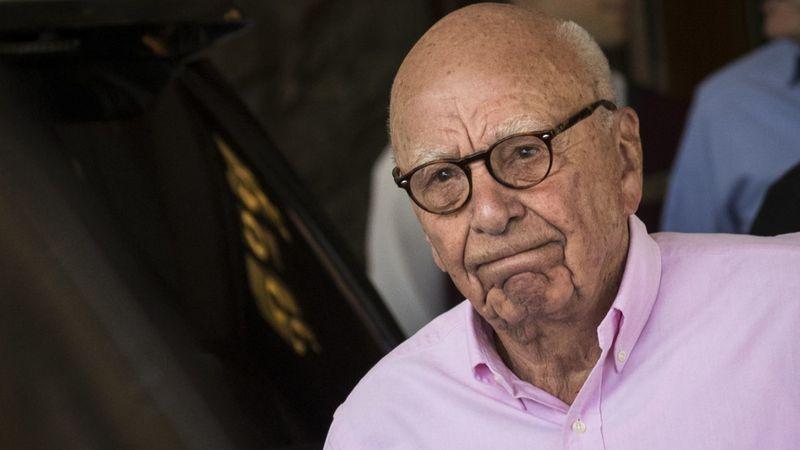 Rupert Murdoch, scrappy Fox mogul who transformed media, begins his Hollywood goodbye