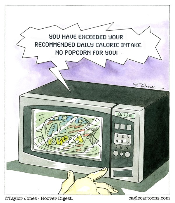 Editorial Cartoon: Internet of things